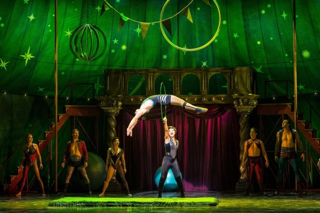 Pippin national tour. Photo Terry Shapiro