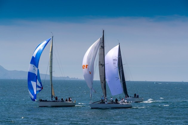 Newport to Ensenada Race. Photo Jeff Granbery.