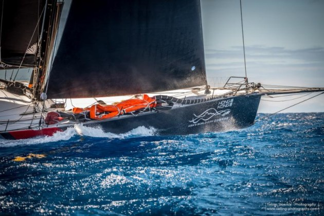 Scallywag closing in on Bermuda - Tobias Stoerkle pic