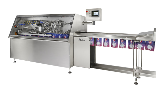The Schur Star 2060-C bagging system.