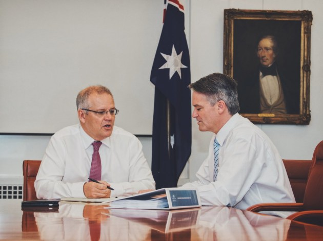 The move sees Marise Payne move to Foreign Affairs, Chris Pyne move to Defence, and Steve Ciobo move to Defence Industry. Scott Morrison via Twitter