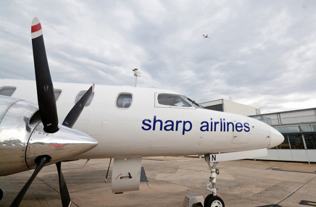 Sharp Airlines is one of several companies that have signed a letter to the government calling for financial support for GA companies. (Steve Hitchen)