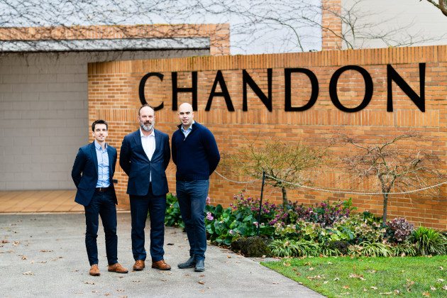 Fraser and Tanyol Enver, Domaine Chandon, overhauled DCA's bottling systems