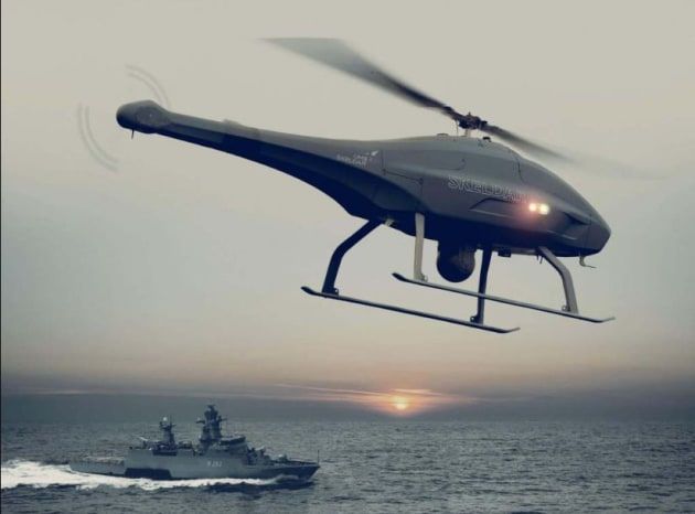 The Skeldar V-200B completed its trials earlier this year.