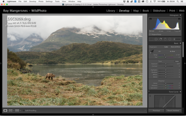 Screen grab from Lightroom to show the dynamic range of the original NEF converted to DNG. No front filter (I often use Lee graded filters) was used on any of these images.