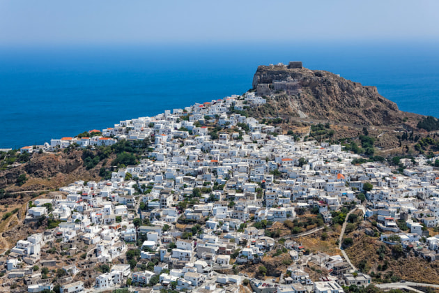Cruising the Greek Islands with Mariner Boating - Skyros.