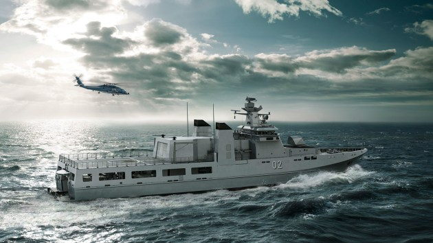 Construction has begun on the first OPV, to be named after the Arafura sea. Luerssen