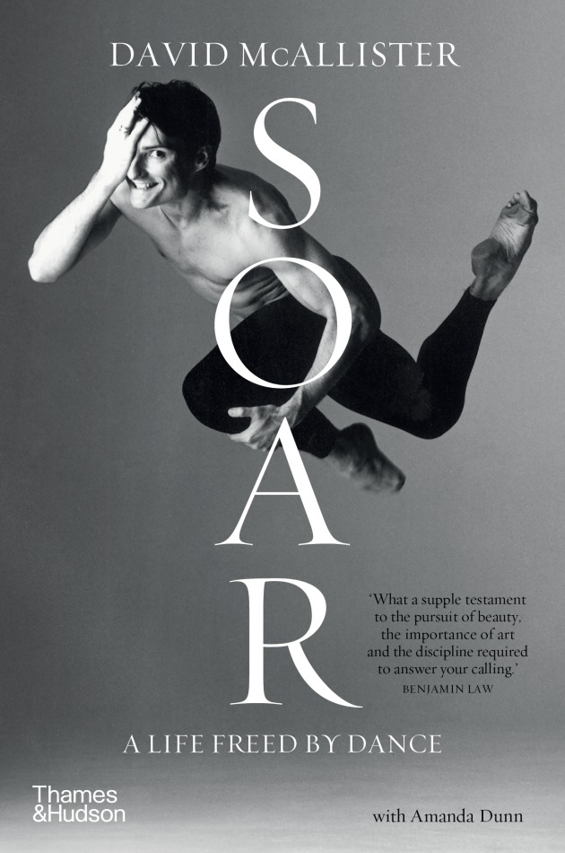 Soar by David McAllister book cover