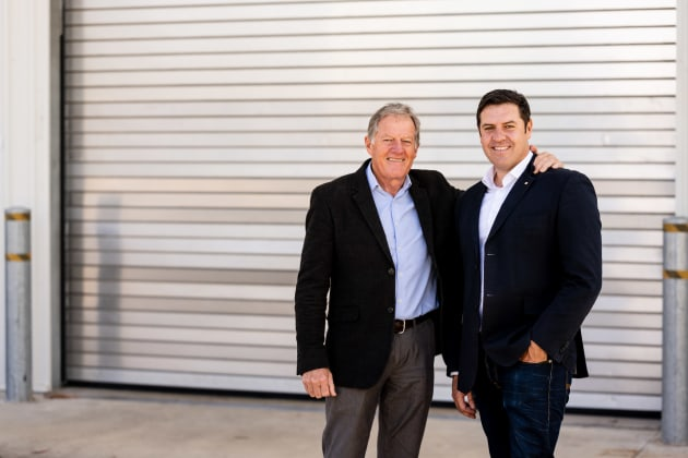 Proform Foods founder Stephen Dunn and CEO Matt Dunn.