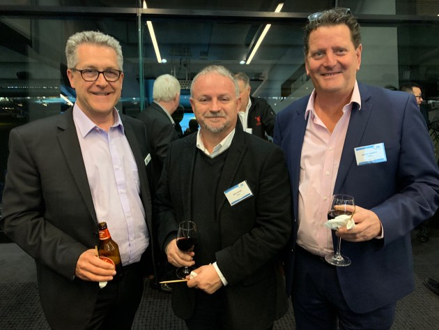 Stuart Shaw, Scott Automation; Rob Ryan, SMC, Mark Emmett, HMPS