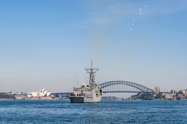 Every surface vessel using Sydney Harbour or Port Botany is controlled by the Vessel Traffic Services (VTS) system.
