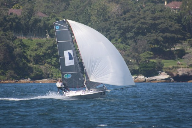 Another win for Sydney-Sailmakers - Vita Williams pic