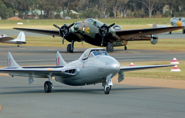 TAM is seeking input in a funding survey to find ways to keep their warbird collection active. (Steve Hitchen)