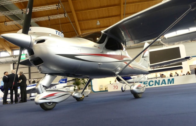 Tecnam is now offering the P92 in composite construction. (Tecnam)
