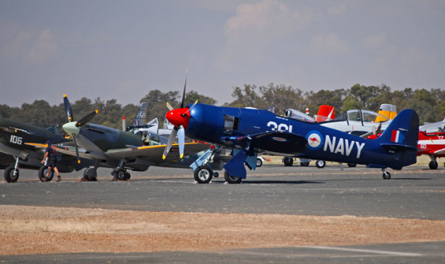 Upgrades to Temora's surfaces will benefit the Warbirds Downunder air show. (Steve Hitchen)