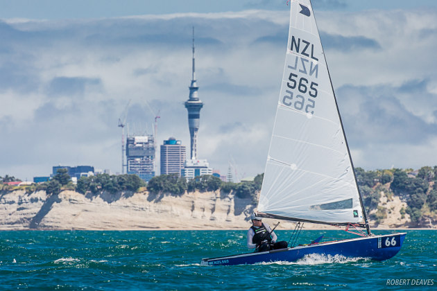 The-2019-OK-Dinghy-Worlds-was-held-in-Auckland - Robert-Deaves-pic