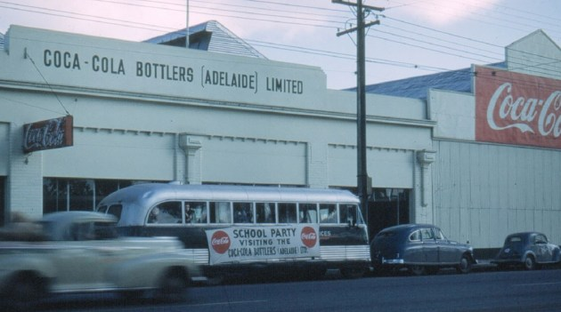The CCA Thebarton bottling facility was popular for school visits from the mid 1950s to the early 2000s.