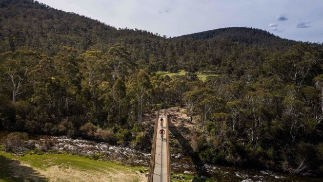 NSW's Thredbo Valley Mountain Biking Track