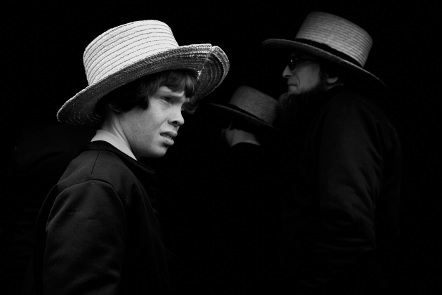 Todd Henry, Runner up, People category, An Amish boy faces his future.