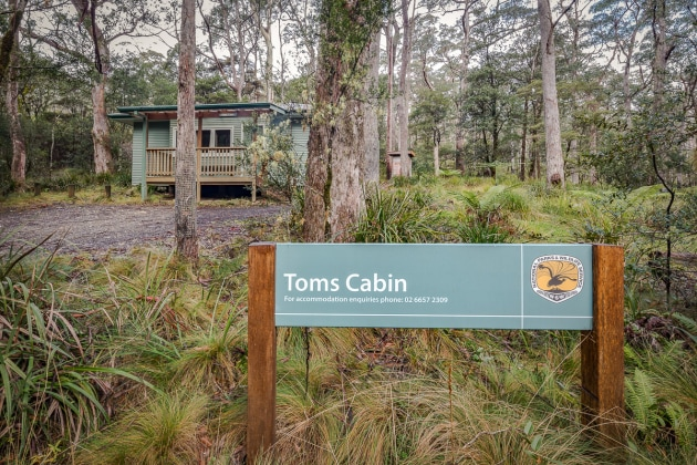 Toms Cabin, New England NP.