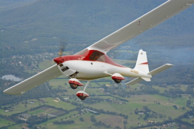 Under the RAAus proposal, recreational aircraft and LSAs such as this Ekolot Topaz would need to be transferred to the Australian Civil Register. (Steve Hitchen)