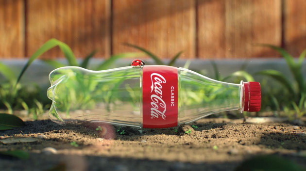 PIDA 2020: Sustainable Packaging Design -- Retail Pack, the Gold was awarded to Coca-Cola Amatil for its 1000% PCR rPET bottle.