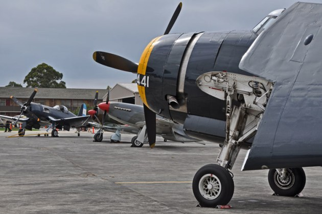Tyabb Air Show has always attracted many supporters from the warbird and antique aircraft communities. (Steve Hitchen)
