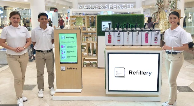 The All Things Hair Refillery launched in March in three shopping malls across Manila.