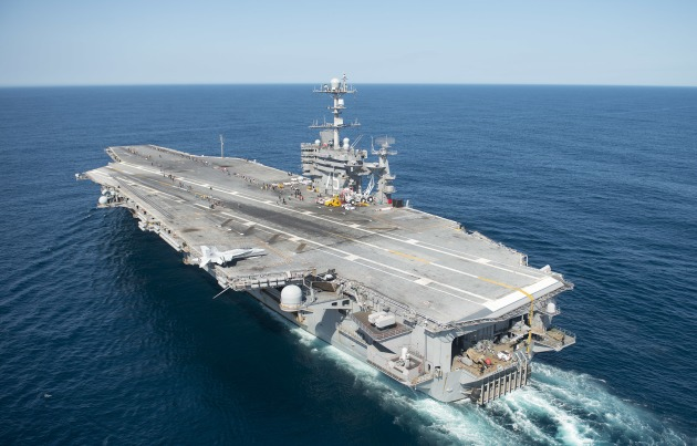 The USS Harry S Truman will be the first aircraft carrier to contain a 3D printed metal part.