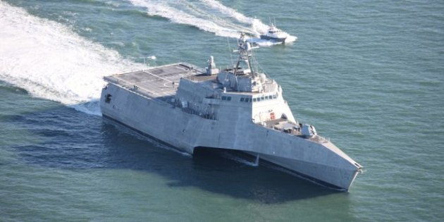 The future USS Manchester (LCS 14) successfully completed acceptance trials on December 15. 