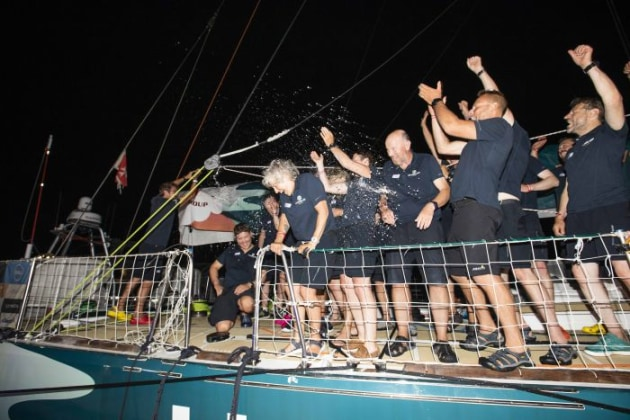 Ha Long Bay, Viet Nam celebrates on arrival into the Whitsundays (Photo credit: Brooke Miles Photography | Clipper Race)