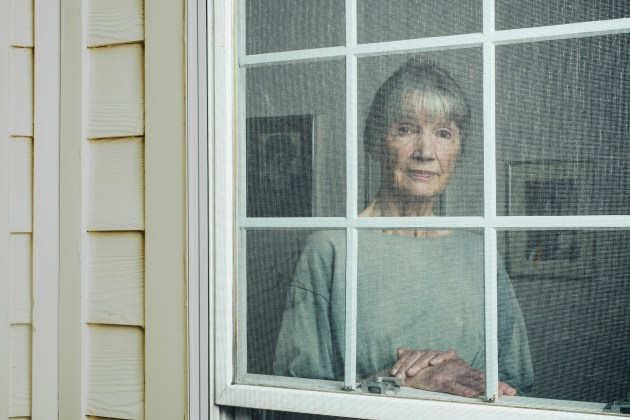 © Stephen Voss. Author Anne Tyler at her home in Baltimore, Maryland on May 11, 2018.