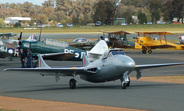 Warbirds Downunder generally attracts a lot of Australia's best vintage and warbird aircraft. (Steve Hitchen)