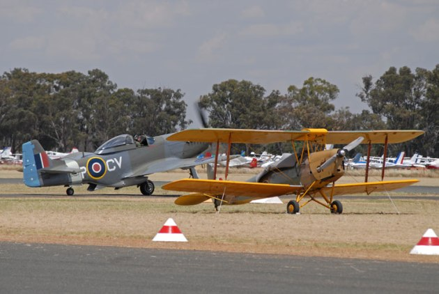 Since its inception in 2011, Warbirds Downunder has become Australia's premier warbird and antique air show. (Steve Hitchen)