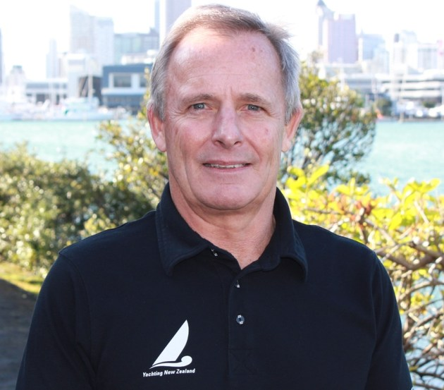 David Abercrombie Chief Executive of Yachting New Zealand.