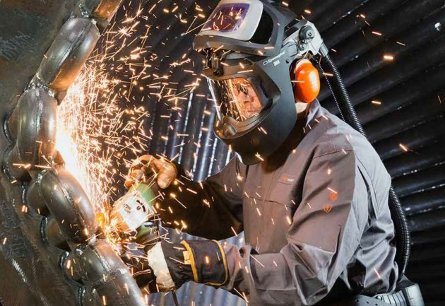 Half of demand for the shipbuilding program will be for welders.