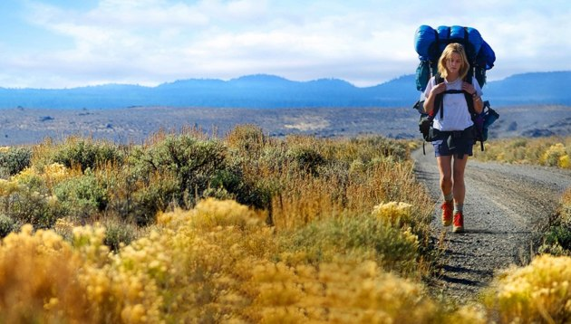 A scene from the movie 'Wild' based on a woman who walked America's Pacific Crest Trail alone.