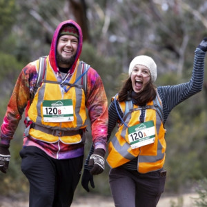 Two participants of last year's Wildendurance.