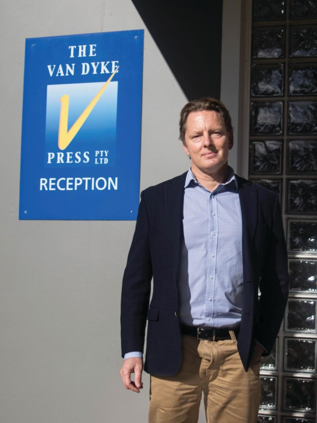 Optimistic: Will Tompson, GM of The Van Dyke Press, believes there are big opportunities in the flexibles space.