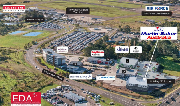 The company will be joining a number of primes on the Williamtown site. Williamtown Aerospace