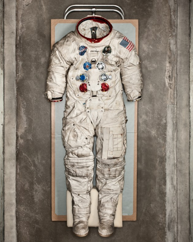 © Dan Winters. Neil Armstrong lunar suit, Washington DC, 2012, Smithsonian Magazine.