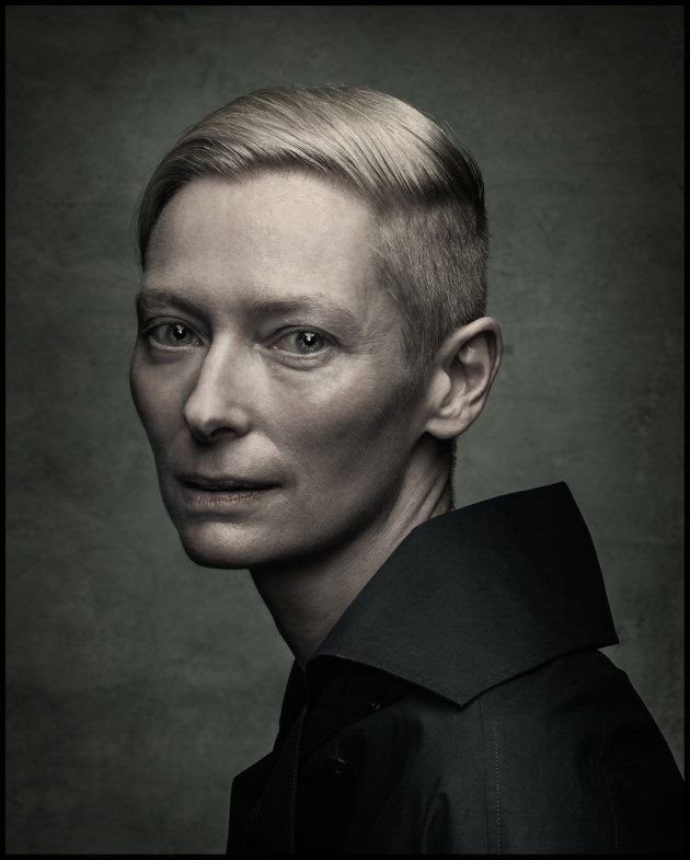 © Dan Winters. Tilda Swinton, Austin, Texas, 2014, Entertainment Weekly.