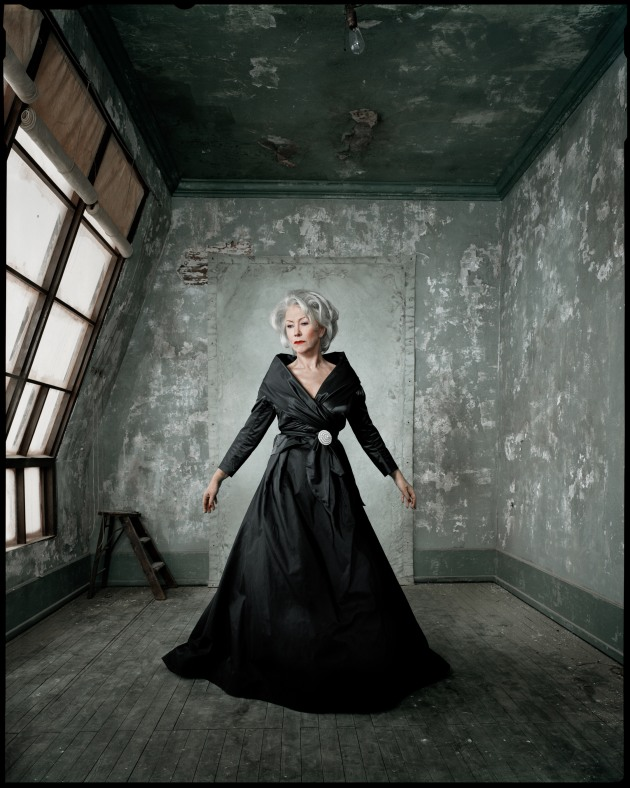 © Dan Winters. Helen Mirren, Los Angeles, California, 2007, New York Times Magazine.