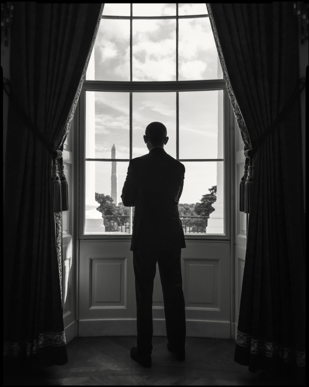 © Dan Winters. Barack Obama, sot for NY Mag.