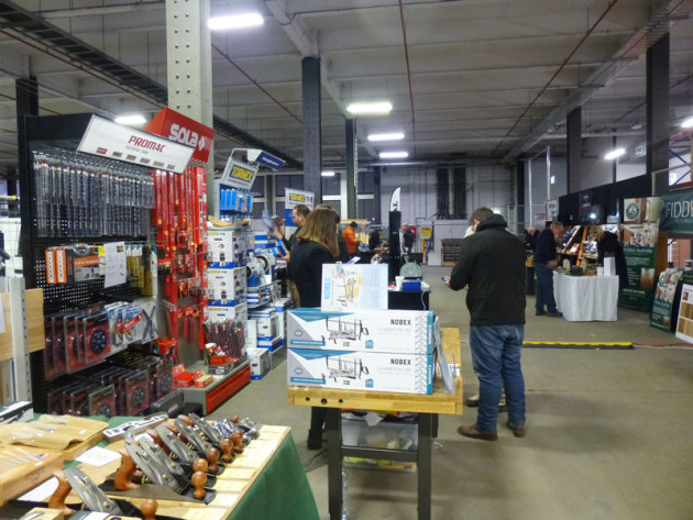 View of the tool marketplace at Wood Dust Australia 2019