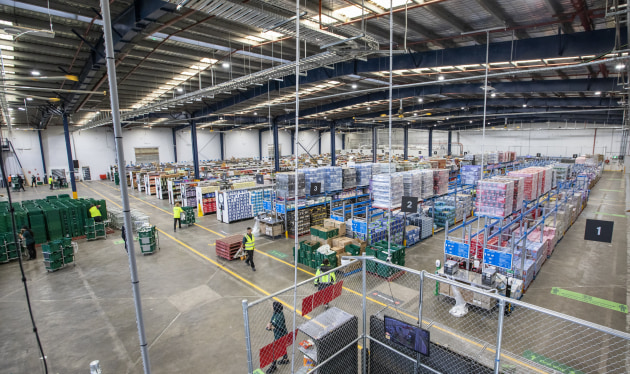 In December 2020, Woolworths opened its 15,000-square-metre customer fulfilment centre in Sydney's west, allowing 20,000 extra customer delivery windows each week.