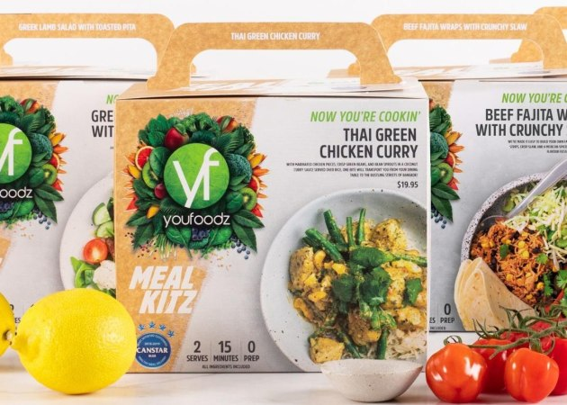 PIDA 2020 Food Category Finalist: Platypus Print Packaging for the Youfoodz Meal Kit.