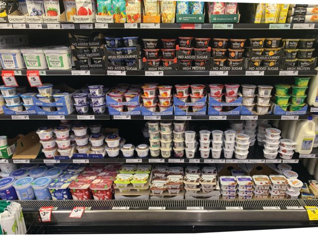Spoilt for choice: Proliferation of yoghurt SKUs is driving demand for flexible lidding.