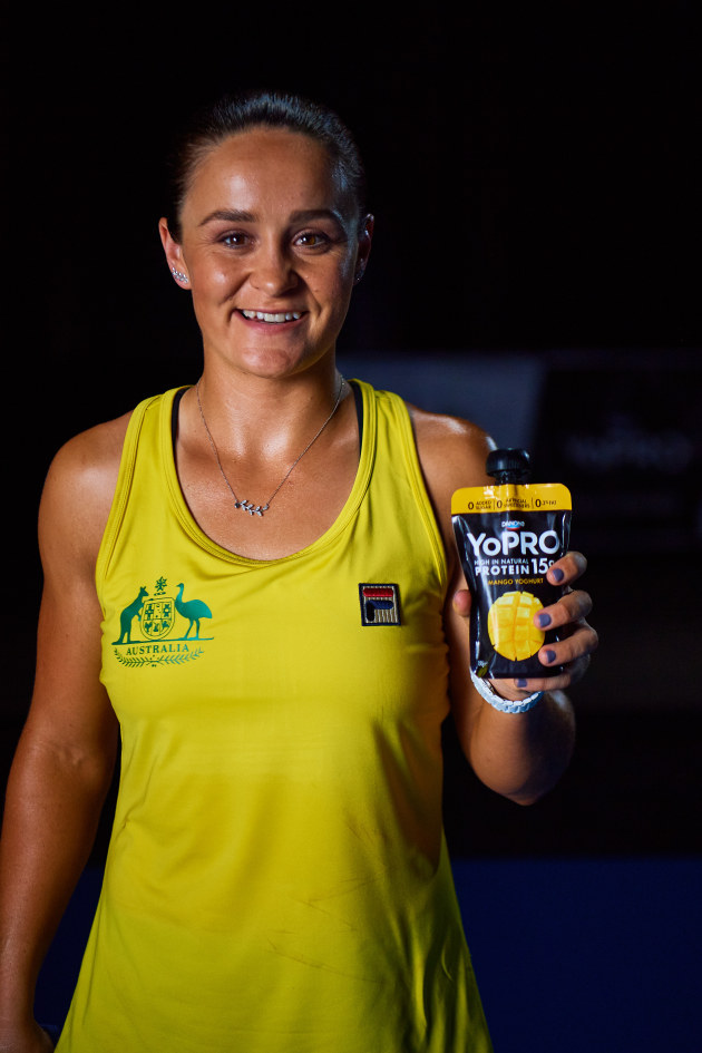 World number one women's tennis player Ash Barty is part of the Australian Olympic Team for the first time this year.