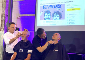 Mitch Docker & Lachy Morton Lose Hair To Raise Thousands For Bushfire Victims